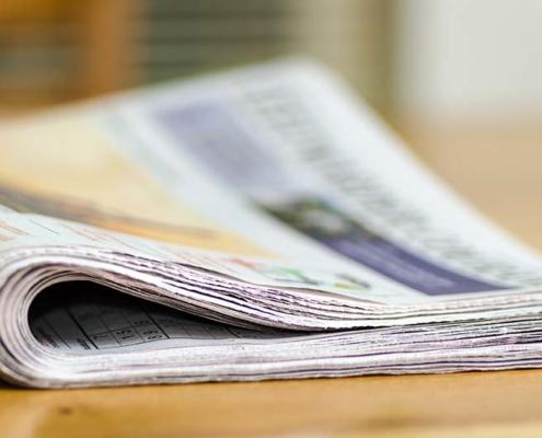 KLM stopt met kranten en tijdschriften aan boord
